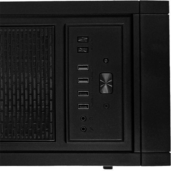 USB Gabinete Gamer Full Tower Horus Mymax
