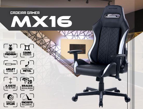 Banner Cadeira Gamer MX16 Mymax