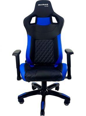 Cadeira Gamer MX15 Giratoria Preto/Azul Mymax