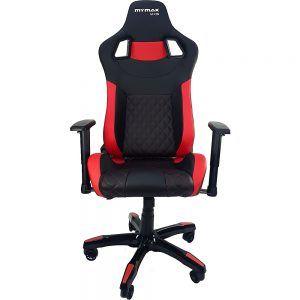 Cadeira Gamer MX15 Giratoria Preto/Vermelho - Mymax