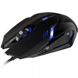 Mouse Gamer Arbor 2400 DPI com Led Azul